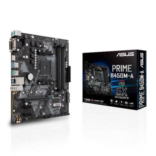 ASUS PRIME B450M-A AM4 M-ATX Motherboard