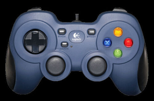 Logitech Gamepad For PC 8-way D-pad Sports Mode Comfortable Grip 1.8m Cord Steam