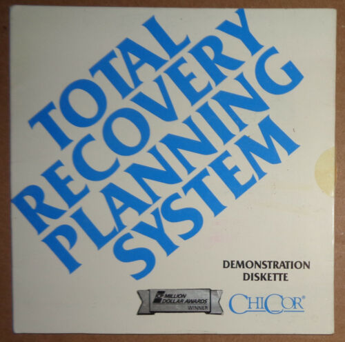 ChiCor Total Recovery Planning System - Demonstration Diskette 1989 for IBM PC