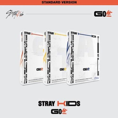 STRAY KIDS VOL.1 GOLIVE ALBUM STANDARD VER. + POLAROID CARD ON PACK KPOP SEALED