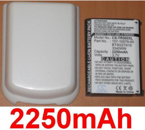 Coque Blanche+Batterie 2250mAh type 157-10079-00 3340WW Pour Palm Treo 685