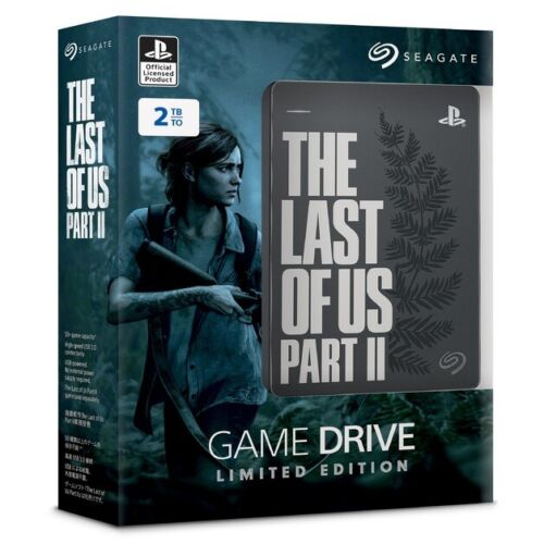 Seagate The Last Of Us Part II 2 Limited Edition Game Drive Playstation 4 PS4