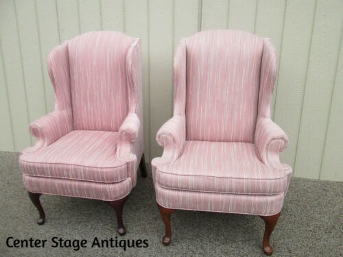 58278   Pair Thomasville Wing Chairs
