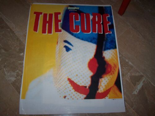 """THE CURE - POSTER MANIFESTO""""WILD MOOD SWINGS"""" 70 x 89"""