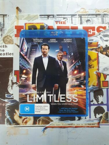 Pre-Owned Blu Ray - Limitless [B8]