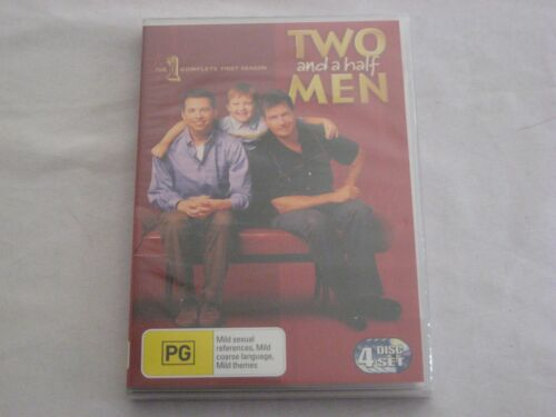 Two And a Half Men Season 1 DVD Brand New Sealed R4 FREE POST