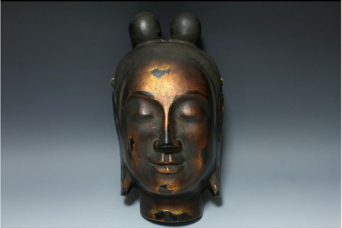 Antique Japanese Edo Era Buddha Mask