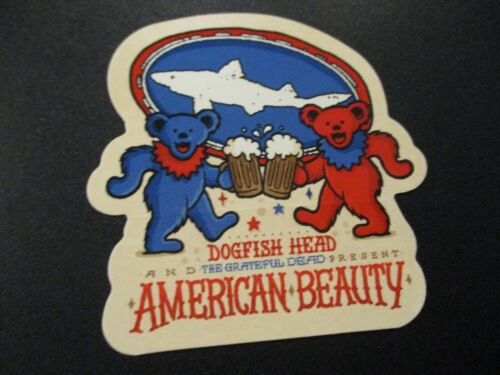 DOGFISH HEAD Chicory Stout tap STICKER decal craft beer dog fish brewing brewery