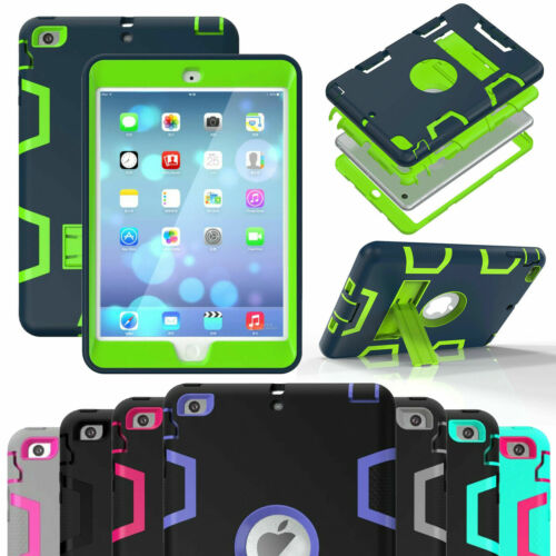 """Kids Shockproof Case Tough Stand Cover for iPad 2/3/4 6th Gen 9.7"""" 2018 Mini Air"""
