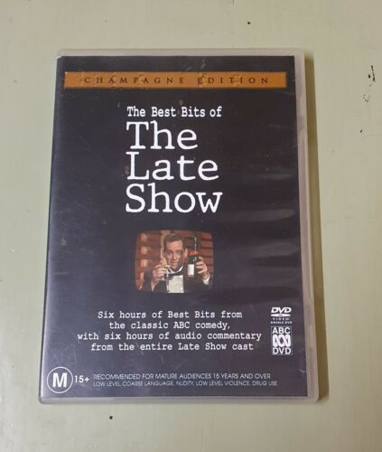 The Best Bits of the Late Show Champagne Edition on DVD Reg4