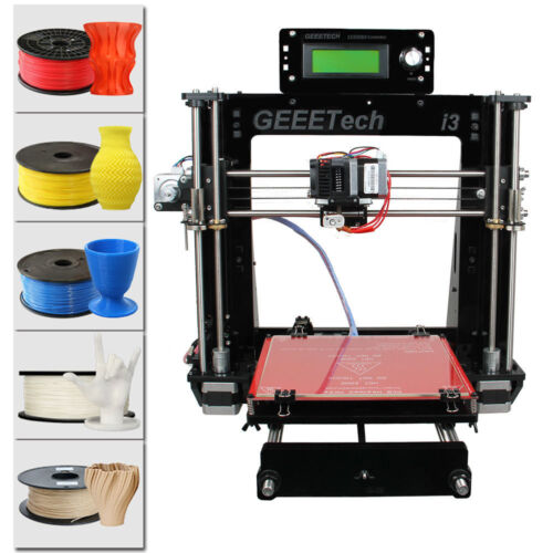 Geeetech Pro B 3D Printer kit Acrylic Reprap Prusa I3 All Metal Parts  from US
