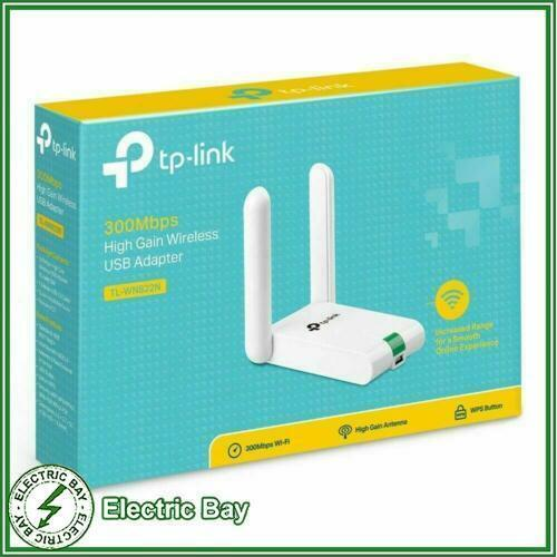 TP-Link TL-WN822N 300Mbps High Gain Wireless WIFI USB Network Adapter Dongle WPS