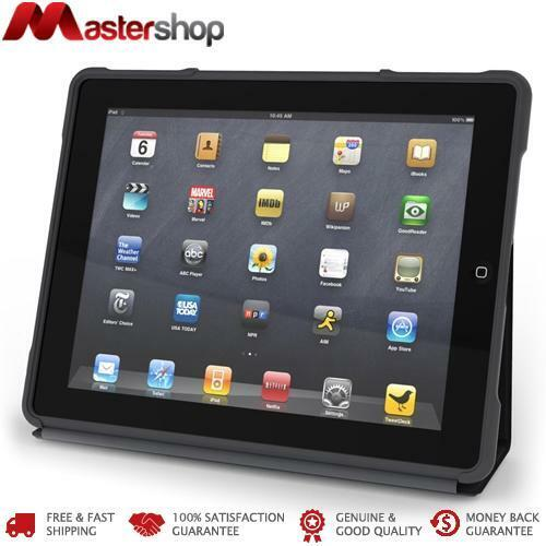 STM Dux Rugged Case for iPad 4th / 3rd / 2nd Gen - Black