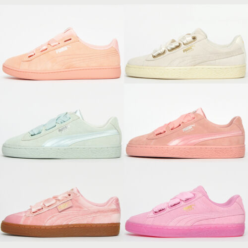 PUMA SUEDE CLASSIC Womens Girls Retro Fashion Heritage Trainers From ONLY £17.99