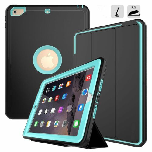 Heavy Duty Shockproof Hard Case Stand Cover For iPad 2 3 4 5 6 Air Mini 2018 9.7