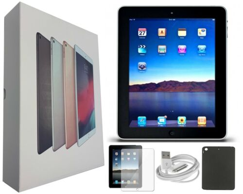 Apple iPad 2 Black, 16GB, 9.7-inch, Wi-Fi Only, Bundle, and Free 2-Day Shipping