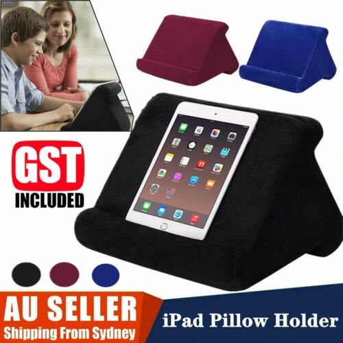 Reading Cushion Pad Laptop Holder Sofa PC Foldable Pillow Tablet Rest For iPad a