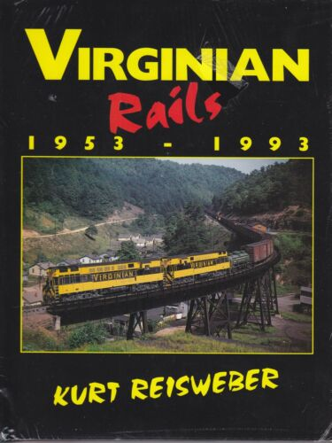Virginian Rails 1953-1993 Railroad Book