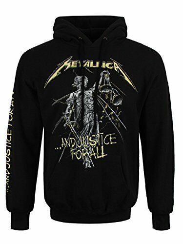 Metallica ...and Justice for All Hooded Sweatshirt Black L