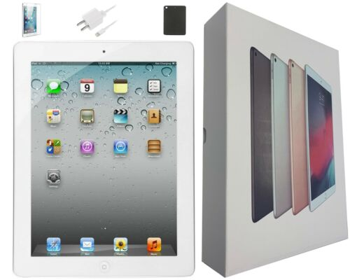 Apple iPad 3 White, 64GB, 9.7-inch, Wi-Fi Only, Plus Bundle/Free 2-Day Shipping