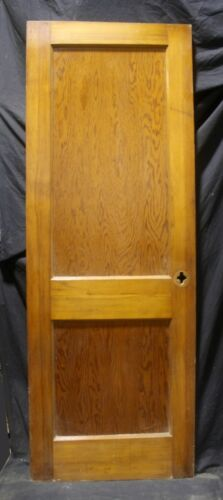 "2 avail 28""x78"" Antique Vintage Old Wood Wooden Interior Closet Pantr Door Panel"