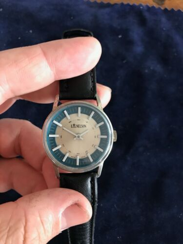 Vintage Swiss Made Mechanical Watch M. Z. Berger with 1 Jewel - Working