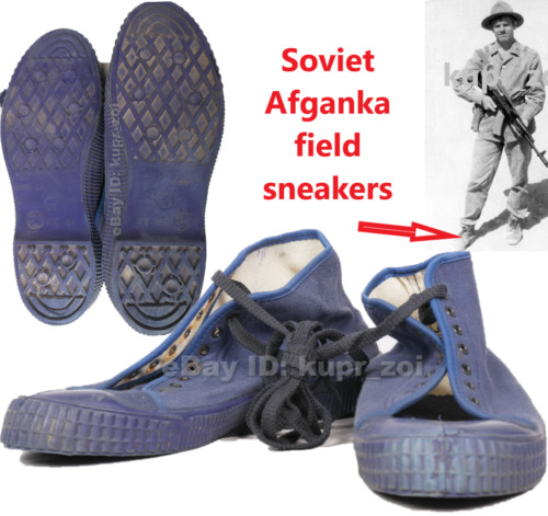 SIZE: 41  Soviet Afganka field sneakers Army Soldier Boots 1Original Period Items - 13981