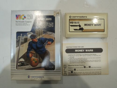 Pre owned - VIC-20 - Money Wars Full box