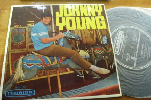 """JOHNNY YOUNG 1961 ALL MY LOVIN , LIKE A BABY 45 rpm EP VINYL 7"""" SINGLE RECORD"""