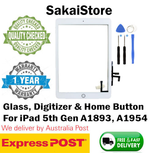 Digitizer Touch Screen Front Glass For Apple iPad 5th Gen 2017 A1822 & A1823