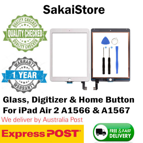 Digitizer Touch Screen Front Glass For Apple iPad Air 2