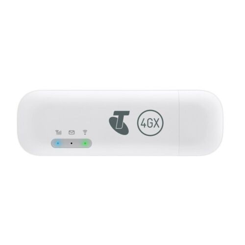 Telstra Pre-Paid 4GX E8372 USB + WiFi Modem 2020 - White