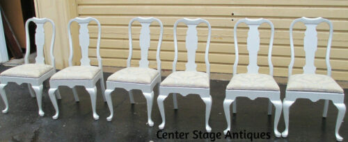 51337 T4:  Set of 6 PENNSYLVANIA HOUSE Queen Anne Decorator Side Chairs