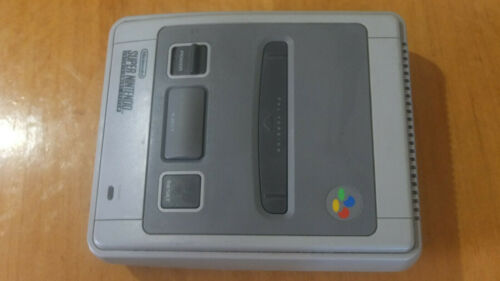 Super Nintendo with 1 Controller and Cables