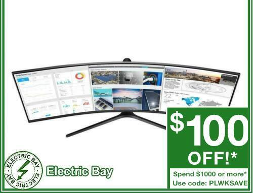 """Samsung 49"""" Curved Business Monitor with 32:9 Super Ultra-wide 144Hz C49J890DKE"""
