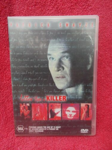 LETTER FROM A KILLER PATRICK SWAYZE  DVD MA R4