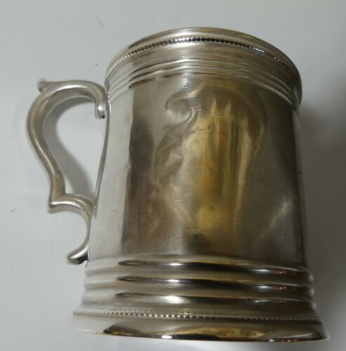 Rare Coin Silver Cup William Tenney NY American Coin 1828-1852