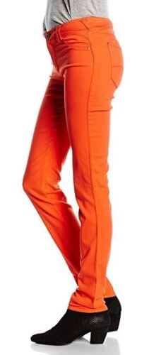 Armani J28 Orchid skinny fit orange red women's jeans/jeggings size 29