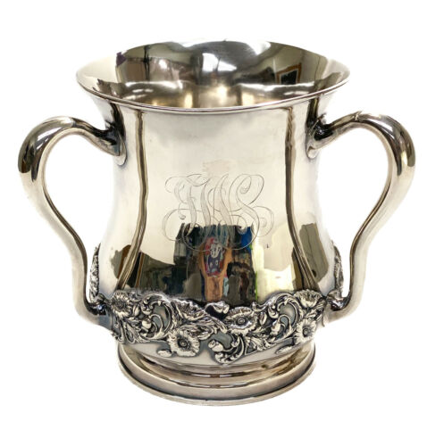 Large Gorham Sterling Silver 6 Pint Loving Cup, #A1335, 1899