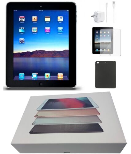 Apple iPad 2nd Generation Black, Wi-Fi Only, 16GB, 9.7-inch, Special Bundle Deal