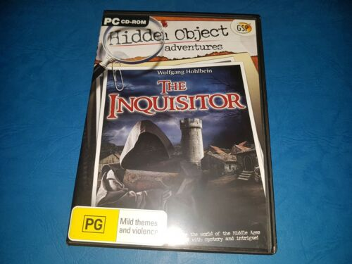 Hidden Object Adventures. The Inquisitor PC CD ROM
