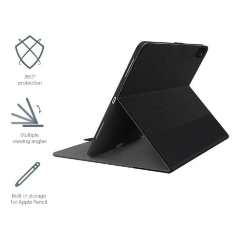 "Cygnett TekView Slimline iPad Pro 12.9"" 2020 Case with Apple Pencil Holder"