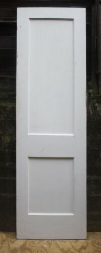 """2 avail 24""""x79 Antique Vintage Old Interior SOLID Wood Wooden Closet Pantry Door"""