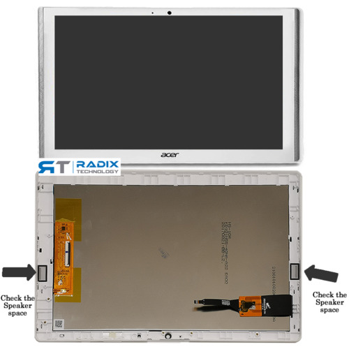 For ACER ICONIA ONE 10 B3-A40 A7001 Touch Screen Digitizer LCD Display Assembly