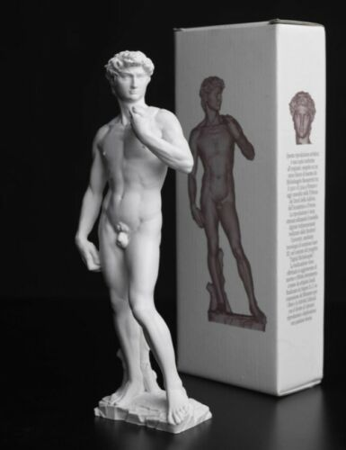david michelangelo cm.20   statue Made in italy