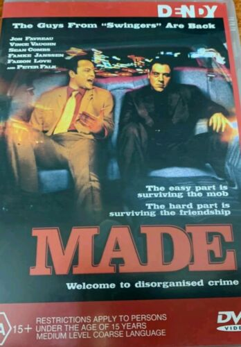 Made.  DVD . Vince Vaughn , Peter Falk.  Like New Condition.