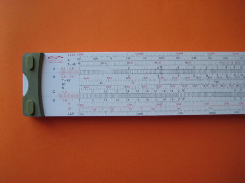 Graphoplex 690a Neperlog slide rule made in France 26 scales.