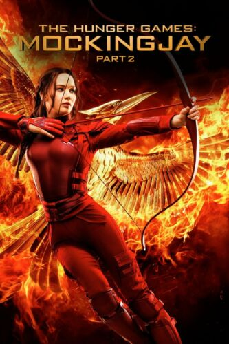 The Hunger Games: Mockingjay Part 2 (DVD, 2015)