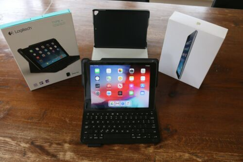 iPad Air with keyboard case