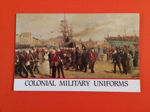 Colonial Military Uniforms 1985 Stamp Presentation Pack MNH